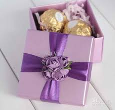 purple wedding favors 50pcs lot hotsale style diy creative wedding box wedding
