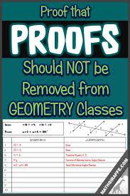 why we need to keep teaching formal proof in geometry