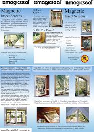 Magnetic Fly Screen For French Doors by Brochure Jpg