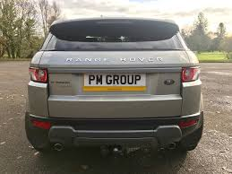 gold range rover used gold land rover range rover evoque for sale port talbot