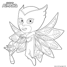 pj masks kids coloring coloring pages printable