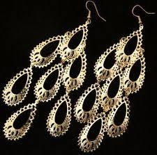 Huge Chandelier Earrings Massive Earrings Ebay