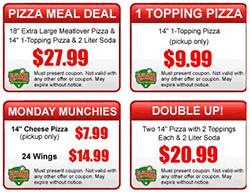 round table pizza menu coupons pizza coupons pizza hut domino s papa murphy papa john s round