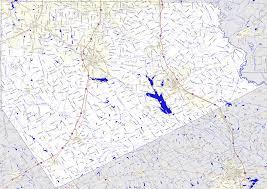 Tx County Map Bridgehunter Com Ellis County Texas