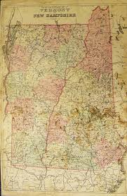 Paper Town Map Prints Old U0026 Rare Vermont Page