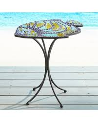 Mosaic Accent Table Amazing Shopping Savings Fish Mosaic Accent Table