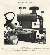 farmall 560 diesel post factory turbocharger kit octane press
