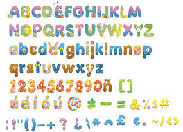 tpt fonts 4 teachers printable easter alphabet letters 4 kids