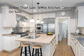 kitchen cabinets for sale better than just white kitchen cabinets on sale walcraft