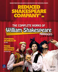 reduced shakespeare company the complete works of william