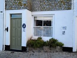 St Ives Beach House Pelican Cottage On The Harbour Dog Friendly Traditional Front