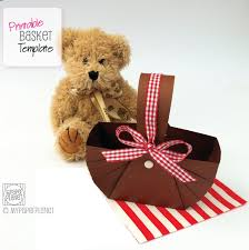 diy printable teddy bears picnic baskets teddy