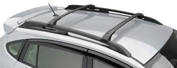 subaru crosstrek 2016 white xv crosstrek aero roof cross bar kit 2013 car stuff pinterest