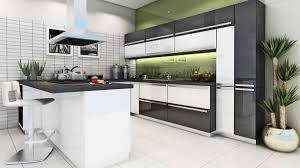 L Shaped Modular Kitchen Designs by Indian Kitchen Interior Design Catalogues