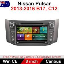 nissan australia gps update 8 u0026 034 car dvd gps head unit navigation stereo for nissan pulsar