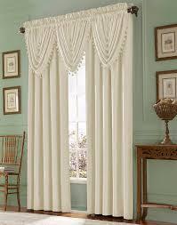 decoration impressive design ideas using white loose curtains and