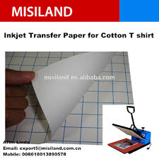 170gsm dark color blue back line inkjet diy t shirt transfer print