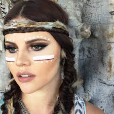 halloween hippie makeup looks 25 indian halloween makeup ideas for women warrior princess