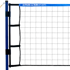 Backyard Volleyball Nets Amazon Com Park U0026 Sun Sports Spiker Flex Portable Outdoor