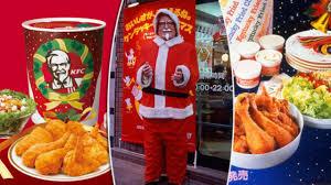japanese customers flock to kfc for u0027christmas party barrel u0027 youtube