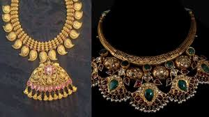 traditional gold jewellery design part 40