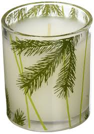 thymes candles thymes frasier fir votive candle 2 oz beauty