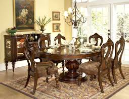 Glass Round Dining Table For 6 6 Chair Round Dining Table Gallery And Excellent Decoration Sets
