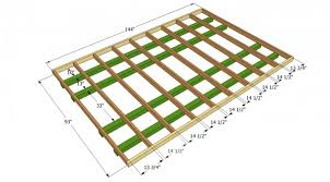 shed floor plans gambrel shed plans myoutdoorplans free woodworking plans and