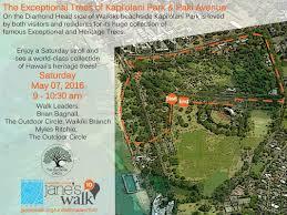 Map Of Waikiki Walks U0026 Parks The Outdoor Circlegreater Waikiki Branch