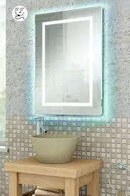 Illuminated Led Bathroom Mirrors by Quad Illuminated Led Bathroom Mirror My Furniture