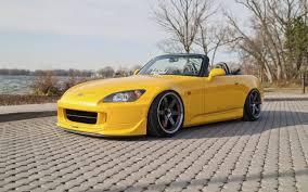 honda s2000 car yellow honda s2000 convertible yellow honda honda
