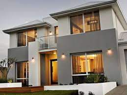 gray modern exterior house colours modern house design trends
