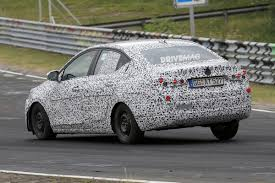 opel sedan opel corsa sedan first spy shots