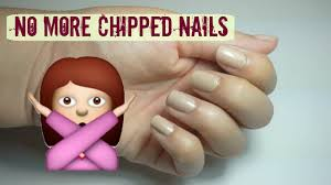 how to make your nail polish not chip youtube