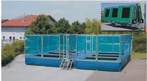 6 in 1 trampoline bed rectangular trampoline jump bed 029 in