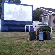 Backyard Movie Night Backyard Movie Night Source One Rentals