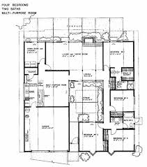 Modern Home Floorplans 61 Best Courtyard Houses Plans Images On Pinterest