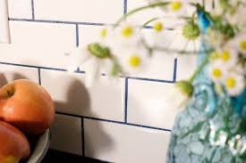 subway tile with glamour grout backsplash hometalk