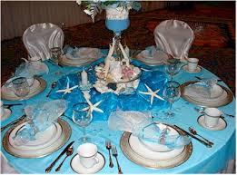 Beach Theme Centerpiece Ideas by Wedding Reception Decorations Ideas Blue Sherrhonda Ymail Com