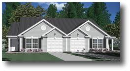Duplex Floor Plans With 2 Car Garage House Plans And Home Designs Southern Heritage Home Designs