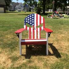 Adirondack Outdoor Furniture How To Build A Pallet Adirondack Chair
