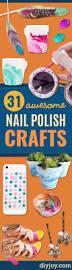 31 creative nail polish crafts diy joy