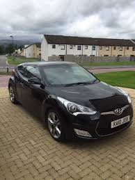 hyundai veloster turbo matte black hyundai veloster in black with red leather interior 1 6 sport 3