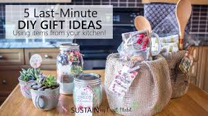 gifts from the kitchen ideas 5 easy last minute gifts you can make with items from your kitchen