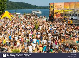 techno and house music festival