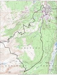 Riverwalk Map Breck Crest Mountain Marathon And Half Marathon