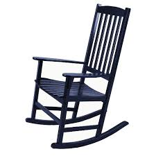 Patio Rocking Chair Willow Bay Patio Rocking Chair Black Target