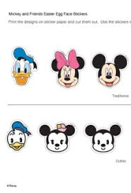 mickey mouse easter egg disney easter printables crafts egg holders and more skgaleana