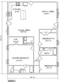 Steel Homes Floor Plans Plan 69619am 3 Bed Modern House Plan With Open Concept Layout
