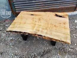 yellow wood coffee table coffee tables kentucky liveedge